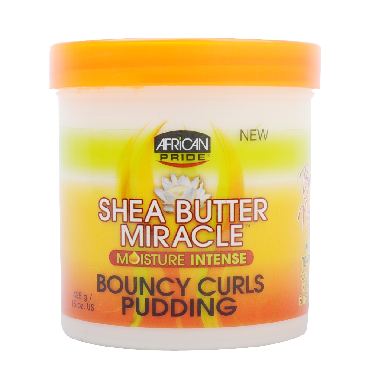 Natural Hair With Bouncy Curls Pudding