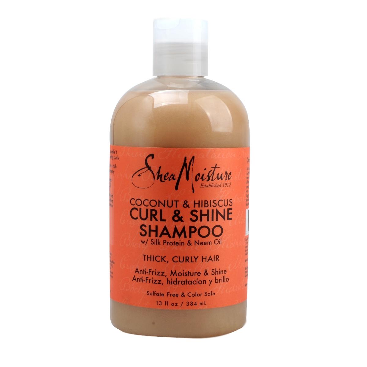 Shea Moisture Coconut Amp Hibiscus Curl Amp Shine Shampoo Olori