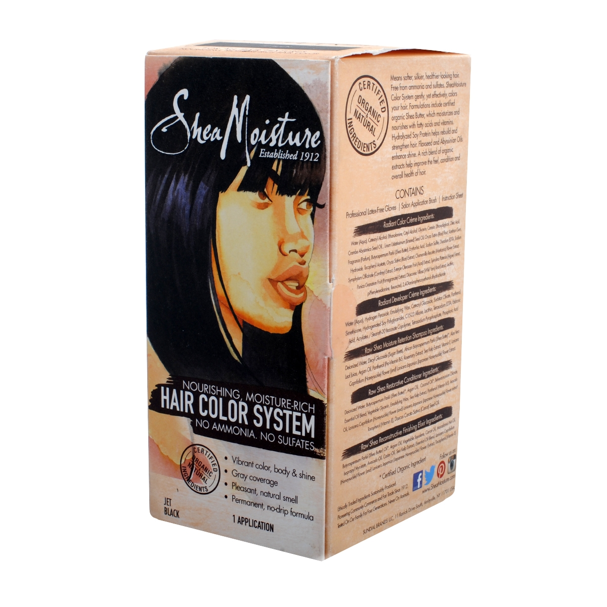 Shea Moisture Hair Color Jet Black