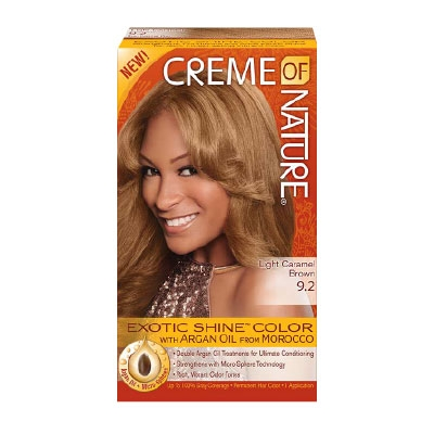 Creme Of Nature Caramel Blonde Hair Color Review