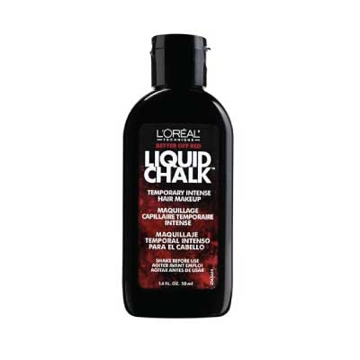 Lu2019Oreal Technique Liquid Chalk Temporary Intense Hair Makeup U2013 Better Off Red | Olori